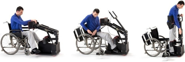 Tek RMD, a New Device for Paraplegic Transportation (video)
